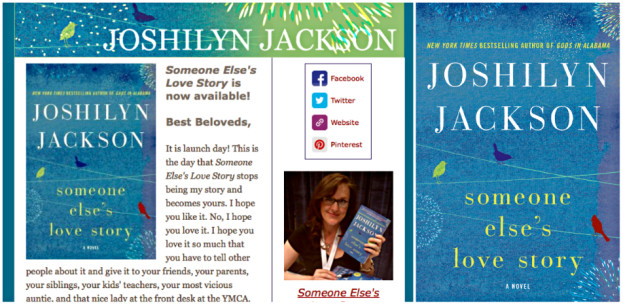 Joshilyn Jackson Email Campaign